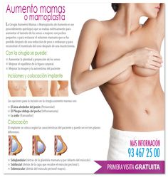 *¿NECESITAS REAFIRMAR O AUMENTAR EL BUSTO? ¿Quieres lucir un pecho más firme y atractivo?* LLAMA AL 93 467 25 00 - PRIMERA VISITA GRATUITA http://www.iccestetico.es/cirugia-estetica-barcelona/cirugia-aumento-mamas-barcelona/