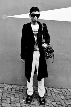 Milan Fashion Week, Women Fall Winter 2011/2012. Moda Donna, Autunno Inverno 2011/2012. Parterre FENDI. Nella foto: bryan Boy     awesome! repin pls!