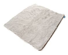 Keep your home clean with ultra soft covers, from the couch to your bed, with the grey PupProtector™ - A waterproof luxury pet throw made from high-quality, machine washable faux-fur. White Throw Blanket, Dog Throw, Orthopedic Dog Bed, Bedding Shop, Jack Russell Terrier, Small Dogs, Your Pet, Dog Blankets, Couch