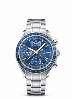 OMEGA Watches: Speedmaster Day-Date - Steel on steel - 3222.80.00