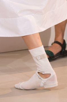 729cef961e1 Paco Rabanne at Paris Fashion Week Spring 2017 - Details Runway Photos  Velvet Slippers