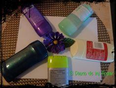 El diario de mi Hogar: Desodorante o antitraspirante ?