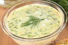 Receita de Molho de iogurte com ervas em receitas de molhos e cremes, veja essa e outras receitas aqui!
