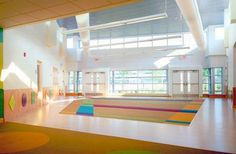 Reebok International Ltd. Child Care Center -   Winner of the 2002 DuPont Antron Design Award!