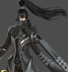WIP tianyu - Online MMORPG character 3D Art by SEUNGMIN KIM20
