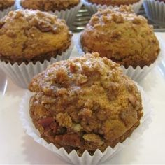 Coffee Cake Muffins with Cinnamon Streusel~Makes back to school just a little bit sweeter!