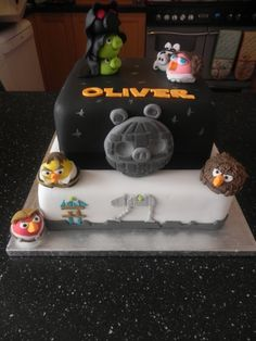 Angry Birds Star Wars - Made for my sons 5th Birthday, hes a huge angry birds fan