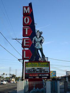 The Robin Hood Motel....Aug. 12, 2007......Anaheim, California.