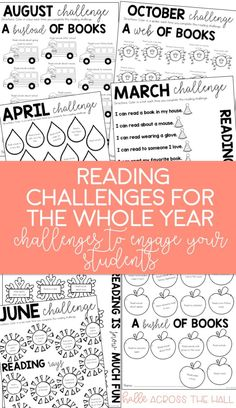 loving these reading challenges