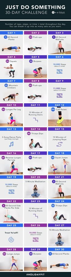 Join Greatist and Fitbit's 30-Day, Just-Do Something Challenge for your chance…