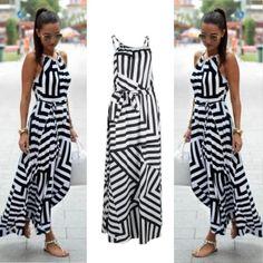 อย่าช้า  Fashion Women Summer Dress Boho Maxi Long Evening Party DressSundress(S) - intl  ราคาเพียง  318 บาท  เท่านั้น คุณสมบัติ มีดังนี้ Gender: Women Material: Polyester (PET) Style: Sundress Sleeveless Cami/Slip Dresses Comfortable to touch and wear