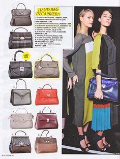 """Handbag per donne in carriera o per dare un tocco """"ladylike"""" al vostro outfit - il modello Motala di #Caleidos #borsa"""