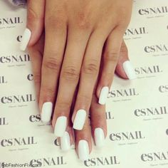 White nails inspiration