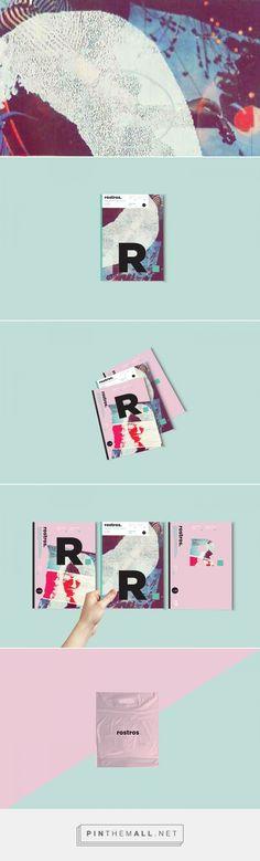Rostros on Behance   Fivestar Branding – Design and Branding Agency & Inspiration Gallery