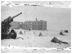 Soviet`s fighting in Stalingrad early 1943
