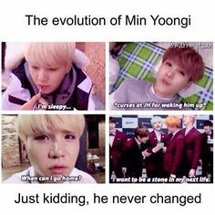 Yoongi is my spirit animal, I swear