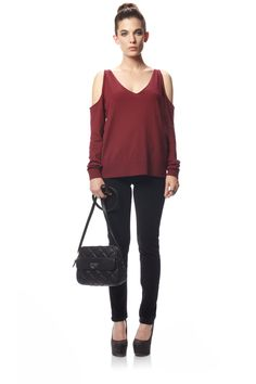 Miss Atticus Cutout Jumper - Knitwear - French Connection