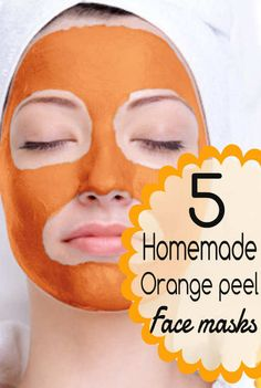 5 Homemade Orange Peel Face Packs for a Gorgeous You!