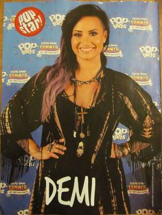 Demi Lovato, Full Page Pinup popstar
