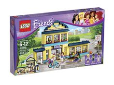 """LEGO Friends, ages 6+ """"Finally, LEGOs for girls! Why have LEGO sets all been marketed to boys for so long? Now, I have to say I don't think girls NEED their own special girly LEGOs in order to enjoy the toy – all 5 of my sisters and I played with the classic versions as kids – but these sets do look pretty fun. Girls can now build a high school, sports car, house, city pool, vet's office, etc. Pieces come in bright, feminine colors..."""""""