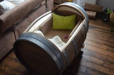 bauanleitung baby wiege selbst bauen baby pinterest. Black Bedroom Furniture Sets. Home Design Ideas