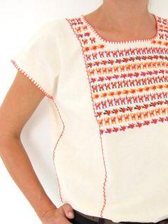 Oaxaca blouse Birds of a Feather handmade in Chiapas, Mexico