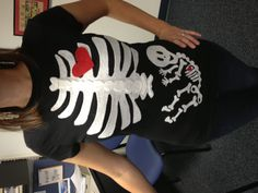 Office Halloween costume day. Great way to announce your pregnancy, right?