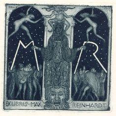 Exlibris für Max Reinhardt, 1911
