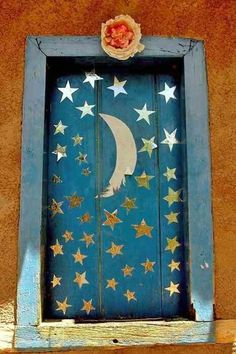 ✯ Wish Upon the Stars ✯  moon & stars door