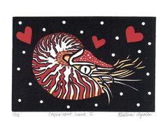 Cephalopod Love I. (Nautilus)