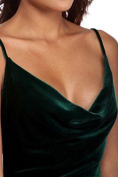 Hunter Cowl Neck Midi Love this dress in a beautiul hunter green color