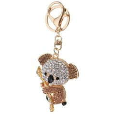 BangGood - Eachine1 Cute Crystal Koala Holding The Branches Pendant Bag Keyring Keychain - AdoreWe.com