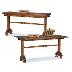 $786.00 Fairfield Chair Flip Top Sofa Table in Heirloom