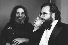 Jerry Garcia with Francis Coppola, BAM Awards, Warfield Theatre, San Francisco, CA 03/25/1980