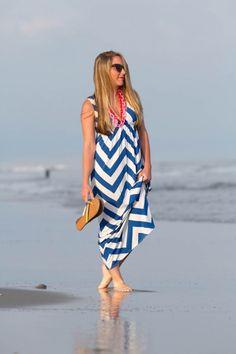 Beach babe. Beach Blonde, Beach Babe, Pink Stripes, Cute Pink, J Crew, Cover Up, Pearls, Dresses, Fashion