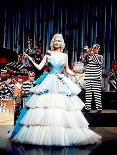 Jayne Mansfield in The Girl Can't Help It, 1956