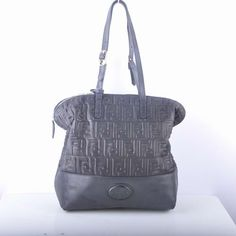 ae149ea3a170 Fendi Black Embossed Leather Shopping Tote Bag : Buy replica watches,  designer replica handbags, cheap wallets, shoes for sale