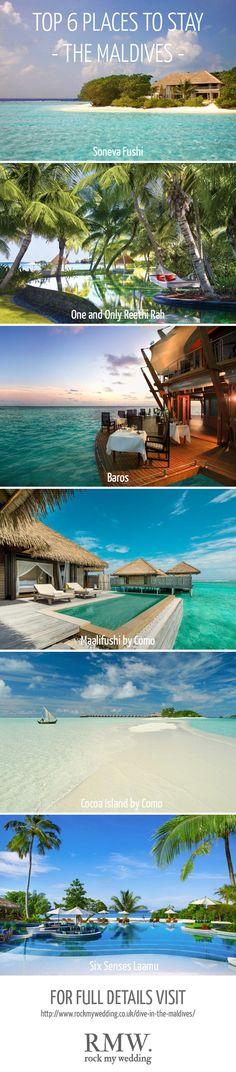 Maldives | Honeymoon | Mrs & Mrs Smith | http://www.rockmywedding.co.uk/dive-in-the-maldives/