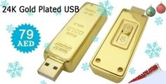 8GB 24K Gold Plated USB for 79 AED. Limited Quantity Available.  to check/buy the product, click on the below link:3 http://www.kobonaty.com/products/deal/kobonaty-direct/890/
