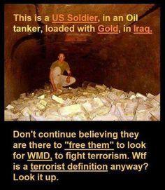 Esto es por lo que usa atacó a Irak ...