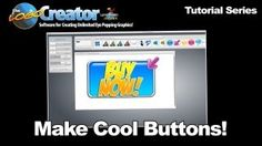 How to make cool buttons with The Logo Creator by Laughingbird Software