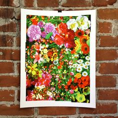 Flowers Print 16x20 now featured on Fab.