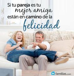 Si tu pareja es tu mejor amigo están en camino de la felicidad