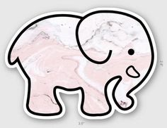Marble Elephant Vinyl Sticker Stickers for Hydroflask Laptop Stickers Waterproof Small Gifts for - Laptop - Ideas of Laptop - Marble Elephant Vinyl Sticker Stickers for Hydroflask Laptop Stickers Waterproof Small Gifts for Preppy Stickers, Cute Laptop Stickers, Red Bubble Stickers, Phone Stickers, Cool Stickers, Printable Stickers, Ivory Ella Stickers, Homemade Stickers, Tumblr Stickers