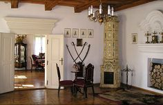 Polish manor- the furniture used to be more delicate back in the days