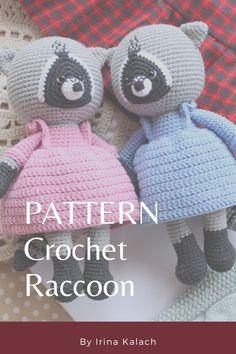 Handmade Ideas, Handmade Toys, Etsy Handmade, Handmade Crafts, Crochet Animal Patterns, Crochet Patterns Amigurumi, Happy Birthday Gifts, Tutorial Crochet, Easter Crochet