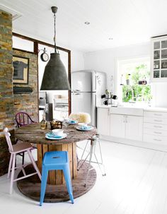 EN MI ESPACIO VITAL: Muebles Recuperados y Decoración Vintage: Decoración de reciclaje {Decoration with recycled elements}