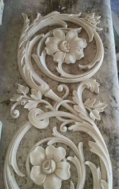 Plaster art decor