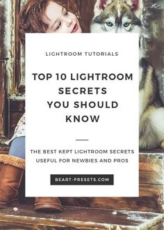 Top 10 Lightroom Secrets You Should Know The aim of the article is to tell about several secrets of Lightroom and introduce to you the alternative, but quite convenient ways that will help to solve everyday tasks relating photo post-processing. Photography Lessons, Photoshop Photography, Photography Tutorials, Digital Photography, Flash Photography, Inspiring Photography, Photography Backdrops, Beauty Photography, Creative Photography