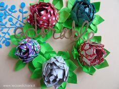 LE COSE DI CHIARA HANDMADE: appuntamento con gli origami: le ninfee